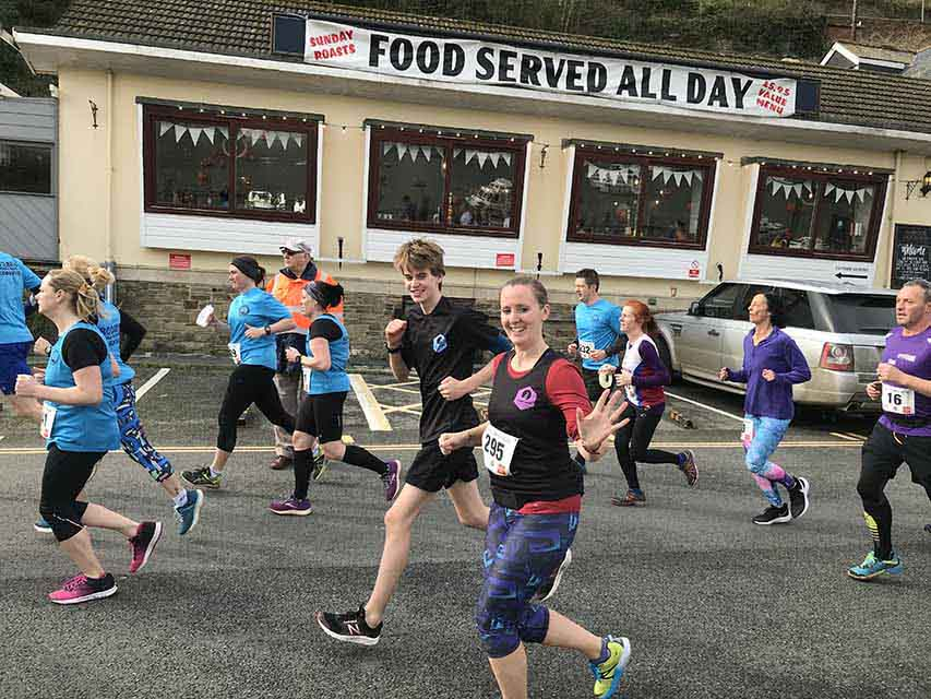importing medals running with my son at Looe 10 Miler Hillish and Hellish on Saturday in Cornwall and writing about it for my sobriety blog My Not So Secret Diary