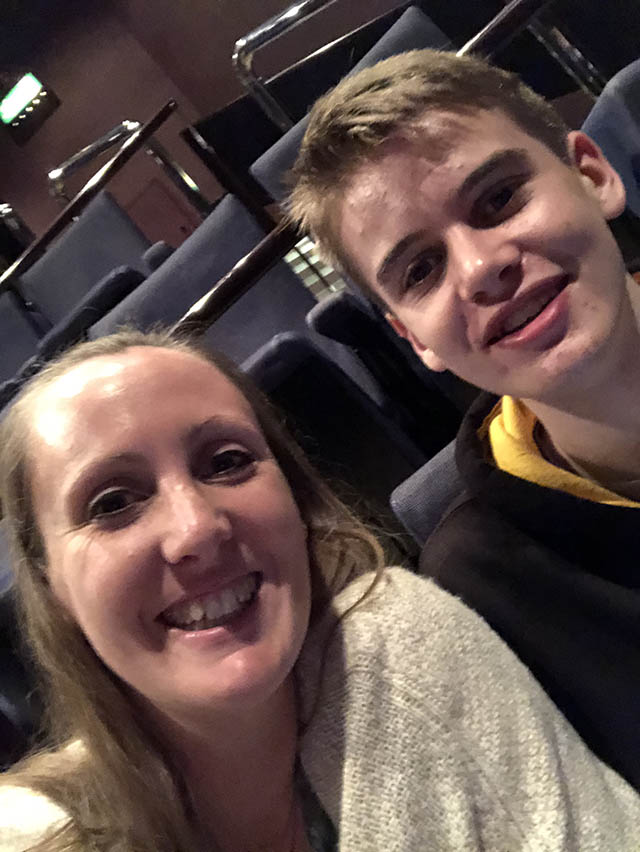 An Inspector Calls theatre royal in Plymouth to see a show with my son blog about alcohol addiction and overcoming My Not So Secret Diary