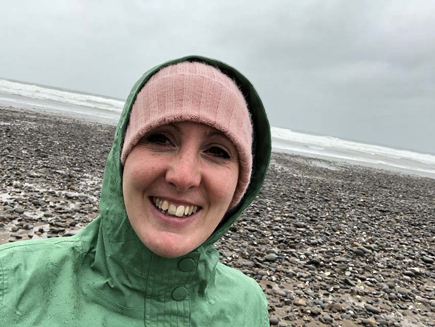 Asking For Help cold day at the beach in Cornwall walking with family sobriety blog about living alcohol free and improving mental health My Not So Secret Diary
