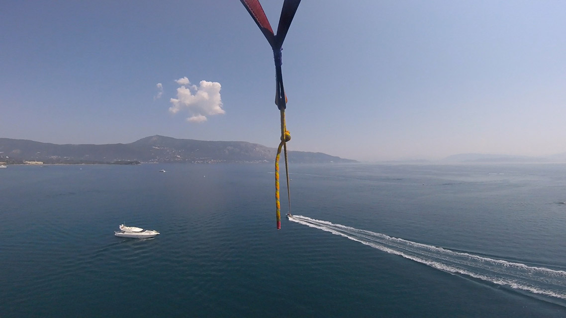 Corfu Parasailing My Not So Secret Diary