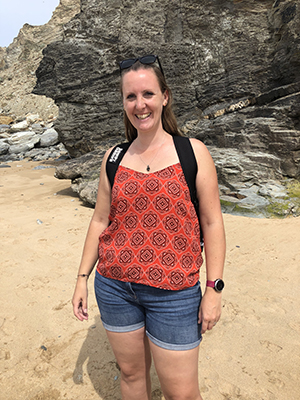 Risk Factors at the beach in Cornwall writing for my sobriety and mental health blog My Not So Secret Diary by Claire Hatwell