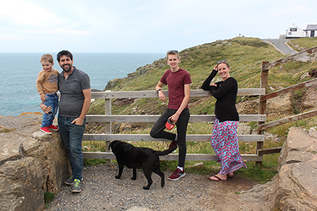 Things I Will Miss walking with my family at Lands End Cornwall, writing for my blog My Not So Secret Diary by Claire Hatwell