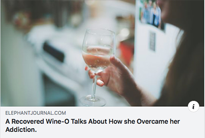 Wine-o Article Elephant Journal Article by Claire Hatwell